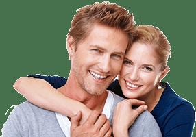 Un couple harmonieux et heureux avec l'agence matrimoniale Harmonie